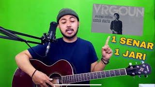 Tutorial Melodi (INTRO SURAT CINTA UNTUK STARLA) cuman pake 1 JARI 1 SENAR (Gitar)