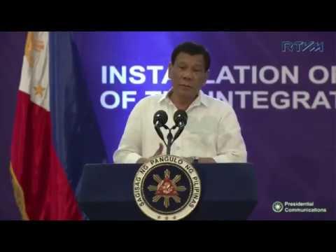 Full Speech of Pres. Duterte - September 30, 2017
