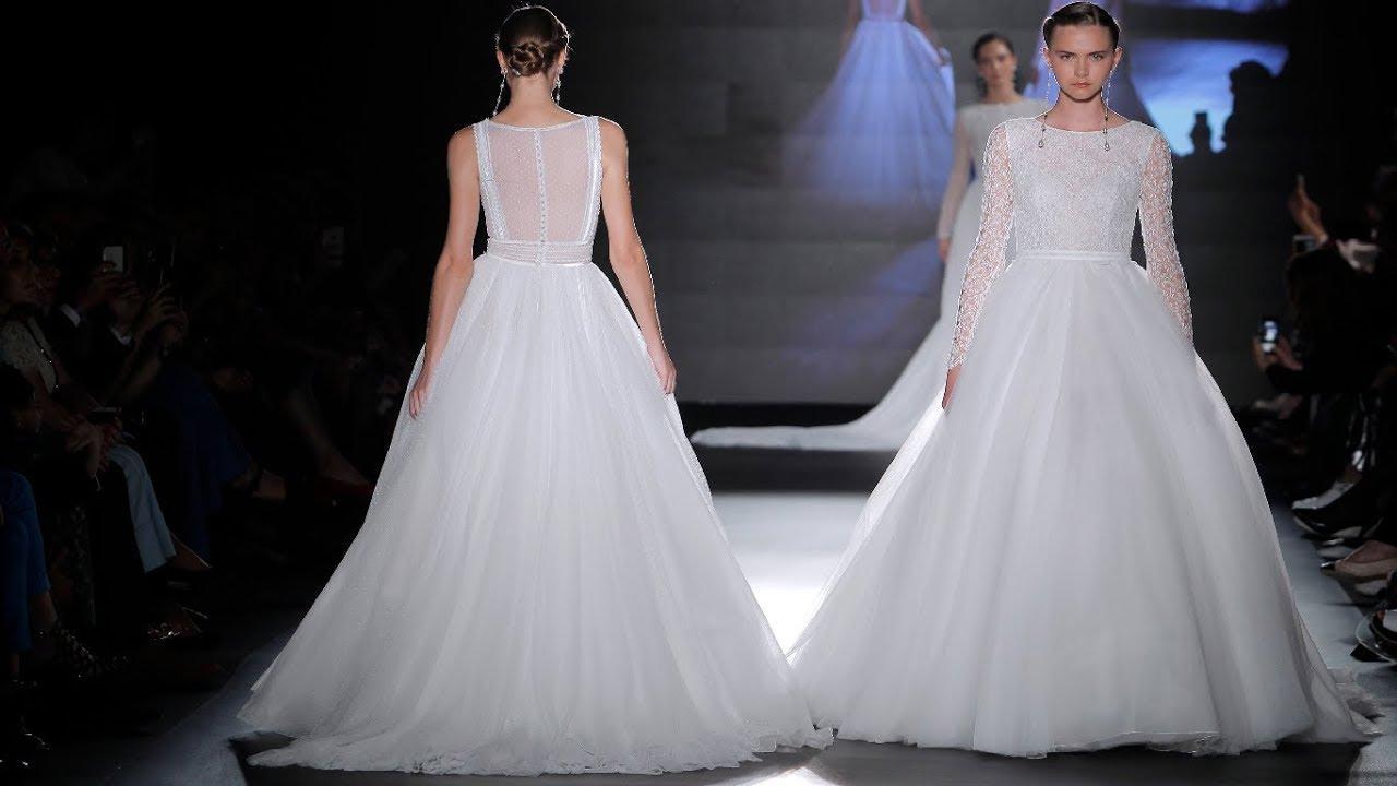Rosa Clara Bridal 2019 Barcelona Bridal Fashion Week 2018 Youtube