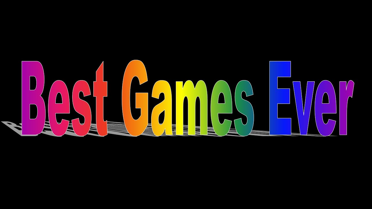 top 20 best games ever how to play the best online games