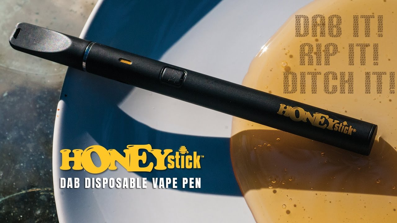 HoneyStick Rip & Ditch Disposable DAB Vape Pen
