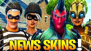THE 18 PROCHAINS SKINS AND EMOTES on Fortnite: Battle Royale