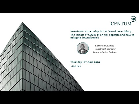 Investment Structuring in the face of uncertainty. The impact of COVID 19 on risk appetite.