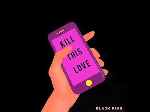 Kill This Love - Black Pink Graphic Design Poster Photoshop Tutorial thumbnail