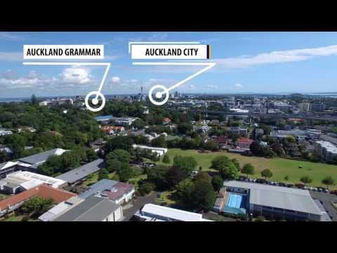 Epsom Girls Grammar School  |  Auckland  |  Aerial Flyover