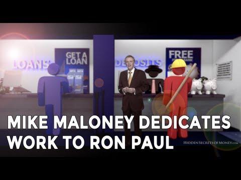 Mike Maloney Dedicates Work To Ron Paul - Casey Summit (Hidden Secrets Of Money Ep4)