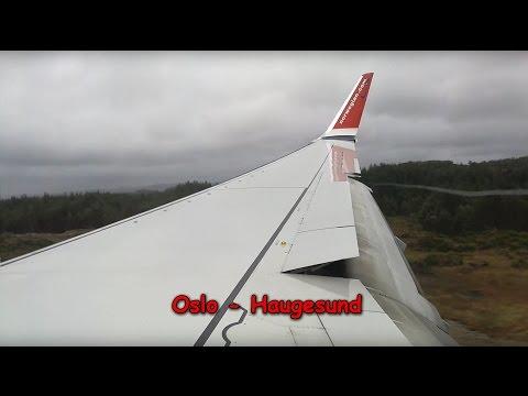 Extreme crosswind | Norwegian Boeing 737-800 Oslo - Haugesund