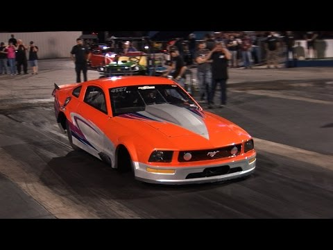 Street Outlaws KAYLA Procharged MUSTANG