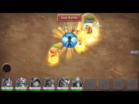 Castle Clash - Max Rewards From New Boss! Boss II!
