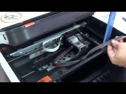 Instalacion Sistema de Tinta Continua Canon MP250 STC