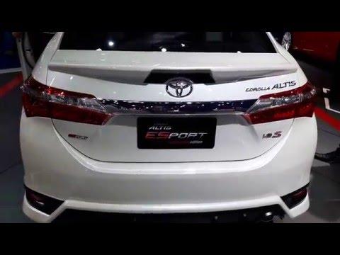 Toyota corolla altis Esport 2016 รีวิว