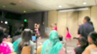 Harleen, Shubhpreet, Purneet, Simone, and Palak Dance -- Fort Wayne Diwali Party 2013