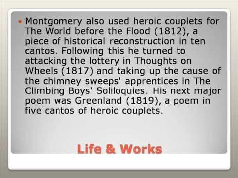 James Montgomery Life & Works