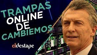Trampas online de Cambiemos / El Destape con Roberto Navarro