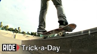 How-To Skateboarding: Frontside 50-50 Grind with Tommy Sandoval