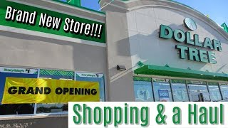 BRAND NEW DOLLAR TREE | GRAND OPENING | SHOP WITH ME & HAUL