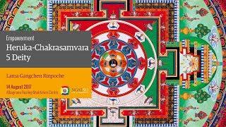 Heruka-Chakrasamvara 5 Deity empowerment (English – Italian) – 14 August 2017