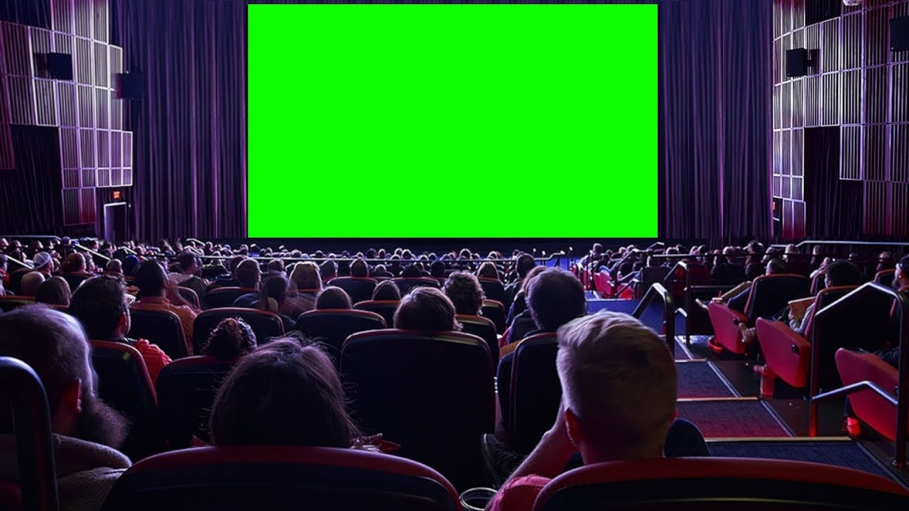 Cinema Chroma Key Tela De Cinema Movie Theater Cine Green Screen Pantalla Verde Youtube