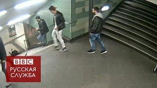 В берлинском метро девушку ударили ногой в спину