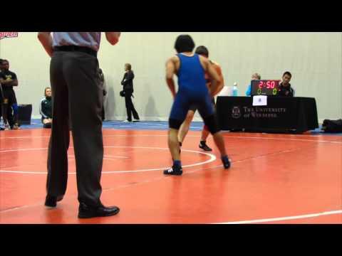 2013 Wesmen Duals: 54 kg Steven McCarville vs. Richard Cux