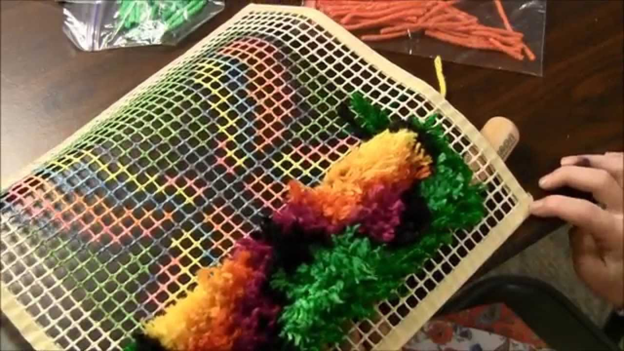Latch Hooking How To Latch Hook Youtube