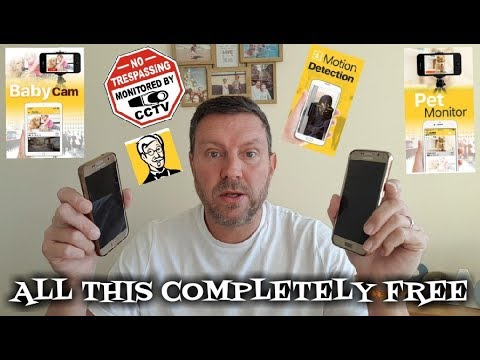 FREE SMART SECURITY CAMERA SYSTEM USING YOUR OLD MOBILE PHONE