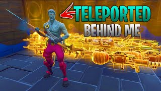 he found a way to TELEPORT behind me... 😓 (Scammer Gets Scammed) In Fortnite Save The World
