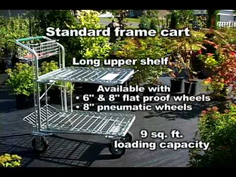 Deluxe Garden Center Shopping Carts (Condensed)