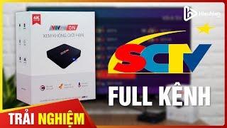Trải Nghiệm Kênh Truyền Hình SCTV Trên TV Box VTVcab ON 2019 [Hieuhien.vn]