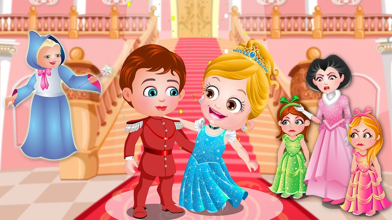 Cinderella Story   Fairy Tale Games For Kids By Baby Hazel Games     Cinderella Story   Fairy Tale Games For Kids By Baby Hazel Games   Part 1