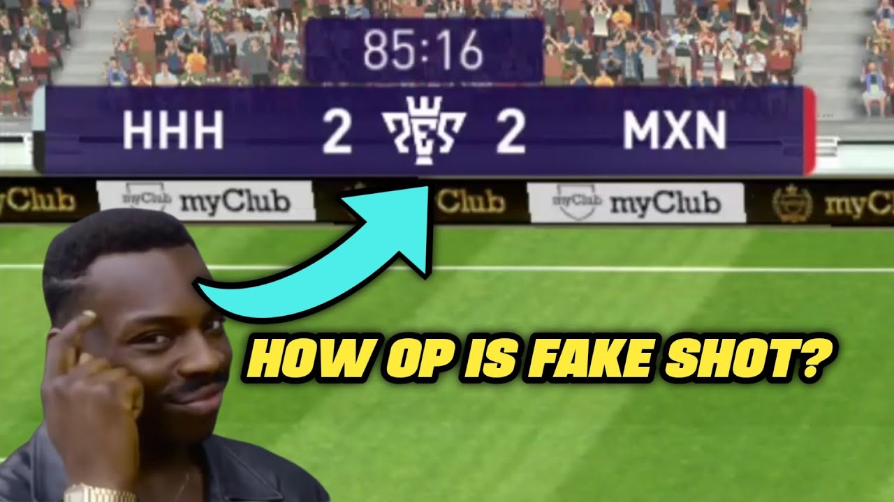 Why Every Pro Players Learn Fake Shot in Pes? | Pes21