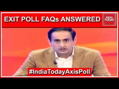 Answering FAQs On How India Voted | Decoding India Today Exit Poll 2019 With Rahul Kanwal
