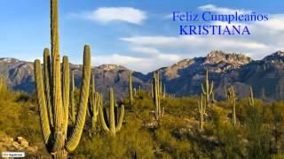 Kristiana  Nature & Naturaleza - Happy Birthday