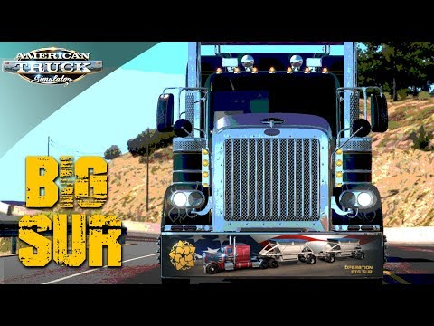 EPIC ONLINE CONVOY To OPERATION BIG SUR | AMERICAN TRUCK SIMULATOR ONLINE