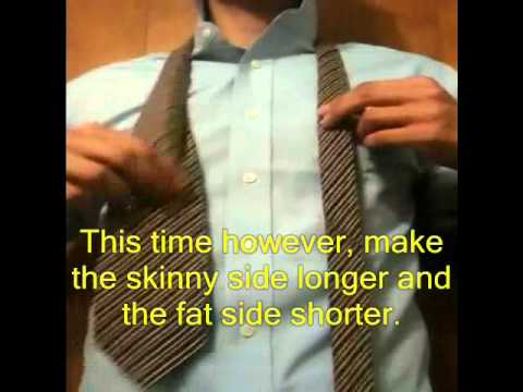 Diy howto make a skinny tie no sewing youtube diy howto make a skinny tie no sewing ccuart Gallery