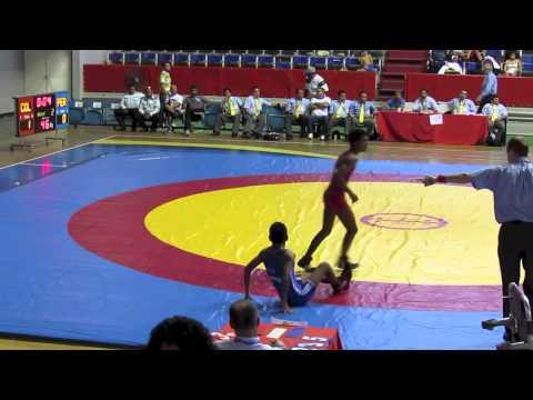 2012 Cadet Pan-American Championships: 46 kg Columbia vs. Peru
