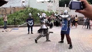Рыцари на свадьбе