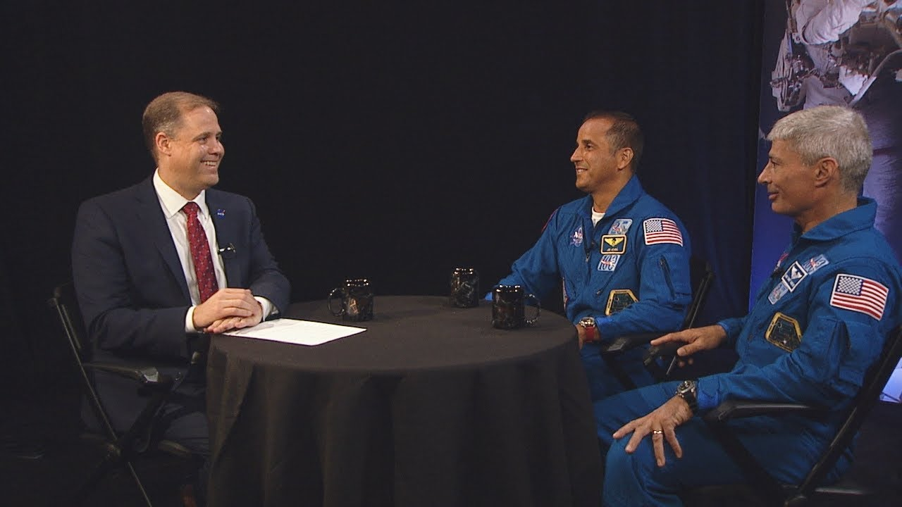 Administrator Bridenstine Chats with Astronauts on This Week @NASA – June 15, 2018