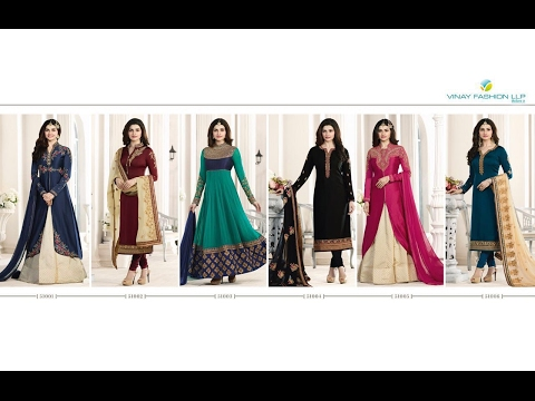 latest indian dresses collections 2017 || vinay fashion || P
