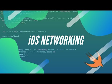 Networking in iOS with URLSession | JSON and Image data