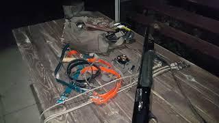 Полювання з лайками на борсука.