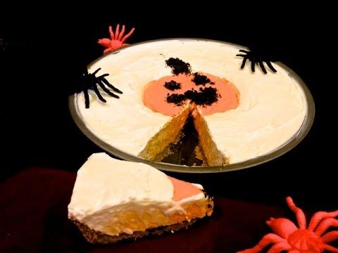 How To Make No Bake Pumpkin Cheese Cake Youtube