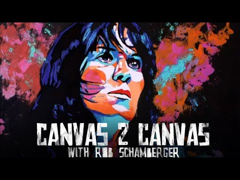 The Ninth Wonder of the World, Chyna! - LIVE PAINTING at C2E2!: Canvas 2 Canvas