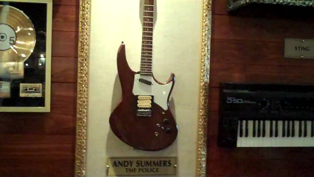 Andy Summers Hamer Phantom Guitar Hard Rock San Francisco