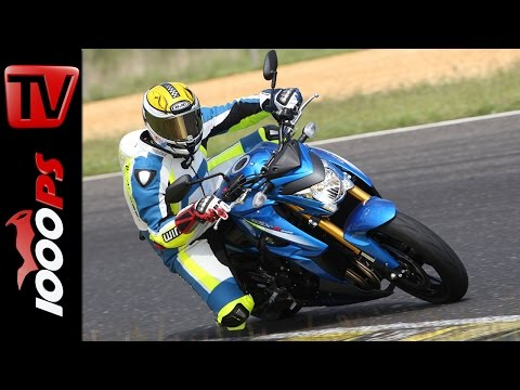 Suzuki GSX-S1000 | Naked Bike Test Rennstrecke