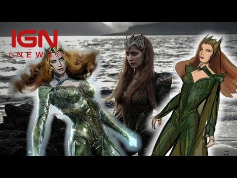 Justice League: 1st Look at Amber Heard as Mera - IGN News