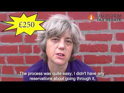 Linda Gets £250 Uniform Tax Rebate