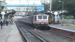 Musical Combo : Koyal (Cuckoo) + WAP5 Duo : Ahmedabad - Pune Duronto Express with AMUL WAP5 !!!