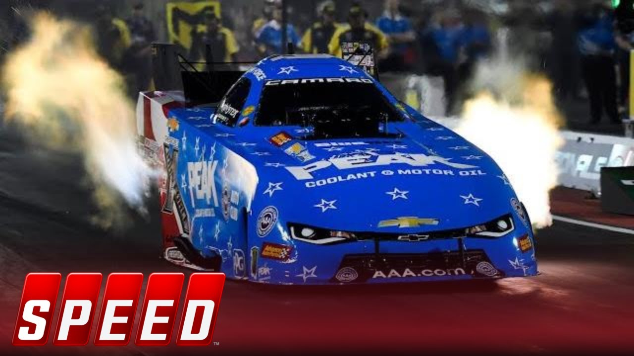 John Force Scores Th Career Funny Car Victory  Nhra Drag Racing