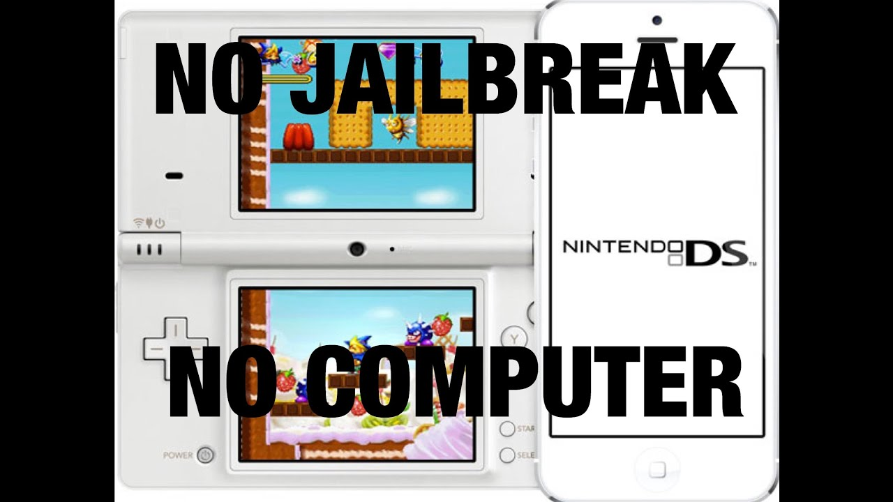 how to download roms for nds4ios no jailbreak